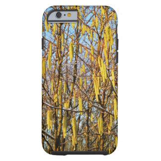 árbol pardo del caso duro del iPhone 6 Funda De iPhone 6 Tough