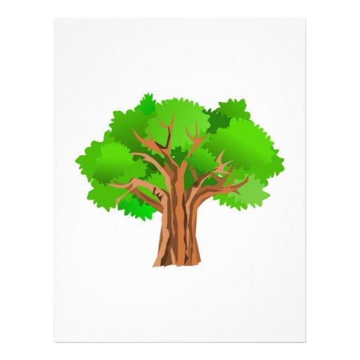 Árbol Plantillas De Membrete