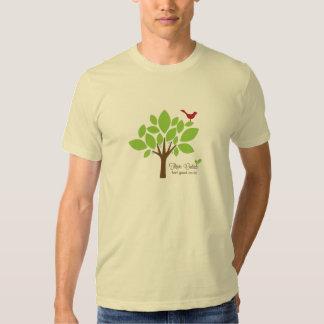 Árbol próspero para toda la camiseta playeras