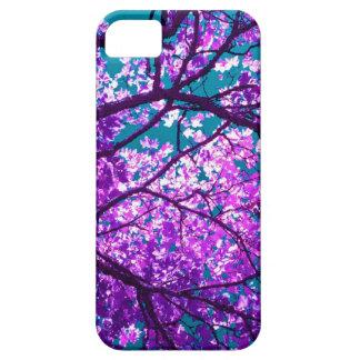 árbol púrpura II iPhone 5 Case-Mate Funda
