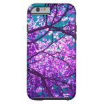 árbol púrpura II Funda Para iPhone 6 Tough