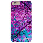árbol púrpura XI Funda Para iPhone 6 Plus Barely There