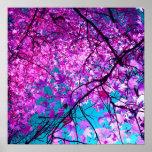 Árbol púrpura XI Póster