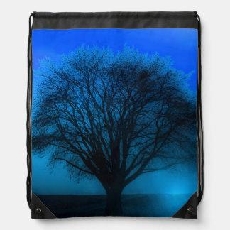 Árbol que brilla intensamente de la vida mágico az mochila