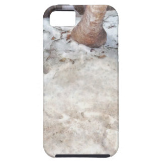 Árbol que consigue sumergido iPhone 5 funda