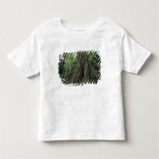 Árbol reforzado en la selva tropical, Corcovado Playera De Bebé
