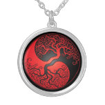 Árbol rojo y negro de Yin Yang Joyeria