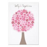 Árbol rosado blanco de la flor de cerezo del comunicados