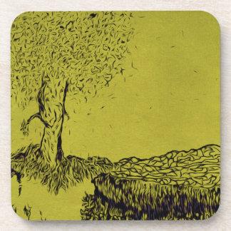 Árbol solo posavaso