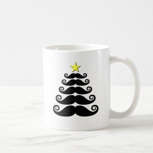 árbol Stache-mas Taza De Café