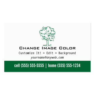 Árbol - tarjeta de visita personal