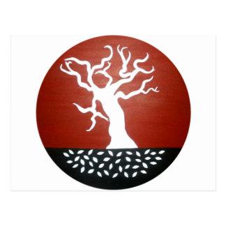 árbol tarjeta postal