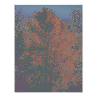 árbol tarjeta publicitaria