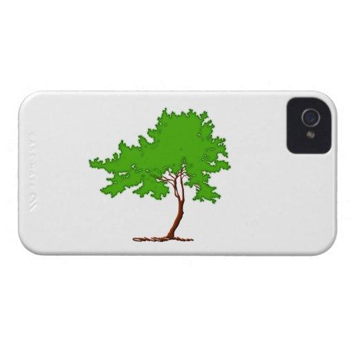 Árbol tree iPhone 4 fundas
