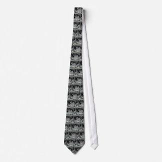 Árbol usado como decoración corbata