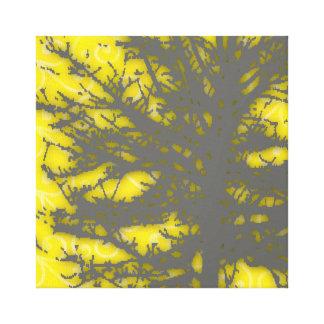 Árbol vago 3 impresión en lienzo