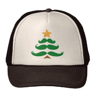 Árbol verde del bigote gorras