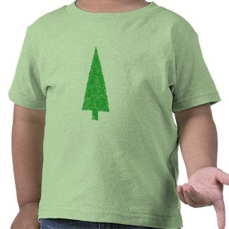 Árbol verde. Navidad, abeto, árbol imperecedero Camiseta