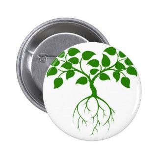 Árbol verde pins