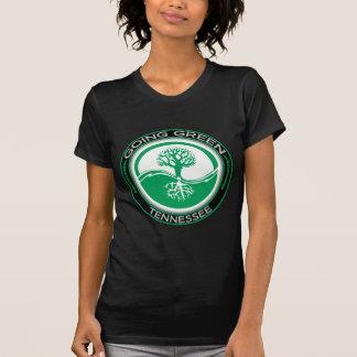 Árbol verde que va Tennessee Camiseta