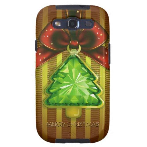 Árbol verde Samsung S3 del diamante de las Felices Galaxy S3 Cobertura