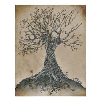 Árbol viejo del susurro (arte) fotos