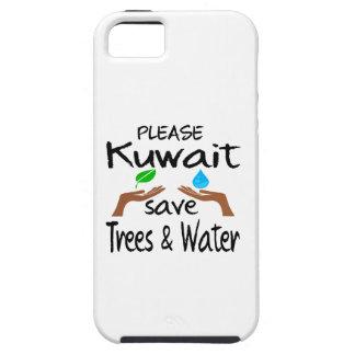 Árbol y agua de la reserva del PLZ Kuwait Funda Para iPhone SE/5/5s