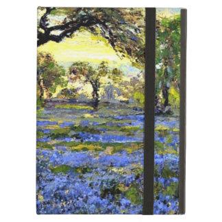Árbol y Bluebells viejos - arte de Live Oak de Ond