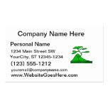 árbol y montaña green.png plantillas de tarjeta de negocio