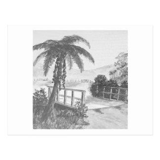 Árbol y puente de Ponga Tarjetas Postales