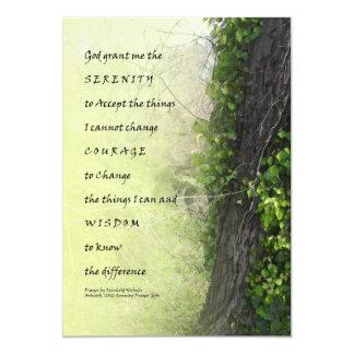 Árbol y reguera del rezo de la serenidad invitacion personal