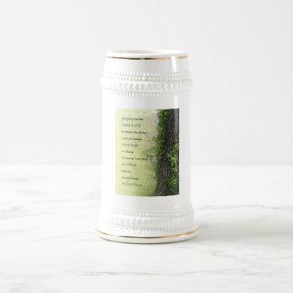 Árbol y reguera del rezo de la serenidad tazas