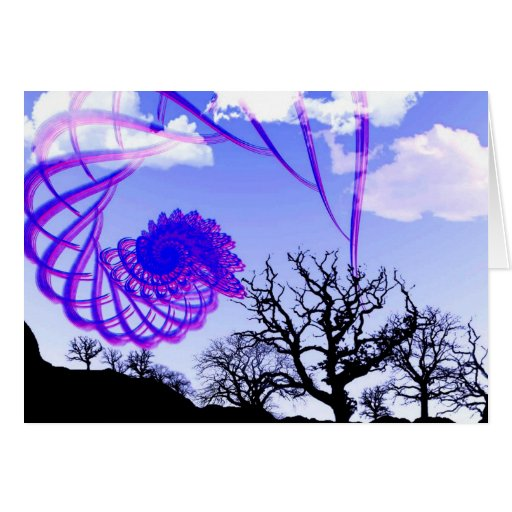 Árbol y sueño de la libertad felicitacion