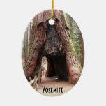 Árbol Yosemite del túnel Ornamento Para Arbol De Navidad