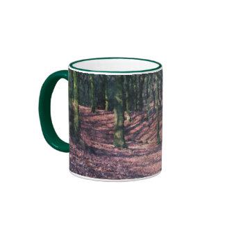 Arbolado de la haya taza de café