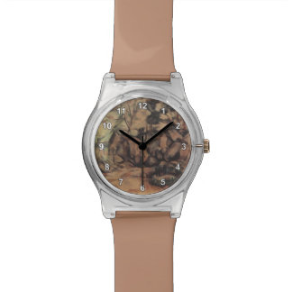 Arbolado de Paul Cezanne- con los cantos rodados Relojes De Pulsera