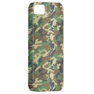 Arbolado estándar Camo iPhone 5 Case-Mate Carcasas