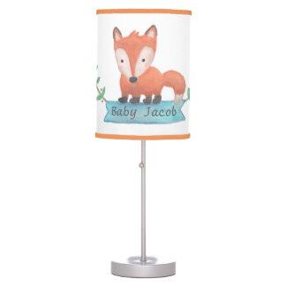 Arbolado lindo animal poca decoración del sitio lámpara de mesa