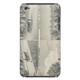 Arbolado, residencias de Davisville Case-Mate iPod Touch Carcasas