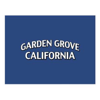 Arboleda California del jardín Postal