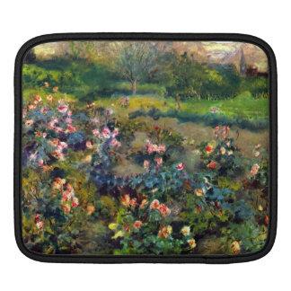 Arboleda color de rosa de Pedro Renoir Fundas Para iPads