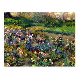 Arboleda color de rosa de Pedro Renoir Postal