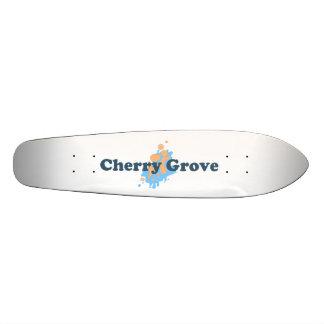 Arboleda de la cereza tablas de patinar