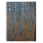 Arboleda de la haya de Gustavo Klimt Cuadernos
