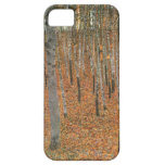 Arboleda de la haya de Gustavo Klimt iPhone 5 Coberturas