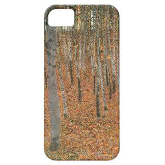 Arboleda de la haya de Gustavo Klimt Funda Para iPhone 5 Barely There