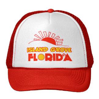 Arboleda de la isla, la Florida Gorras De Camionero