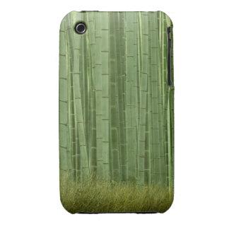 Arboleda de los árboles de bambú Case-Mate iPhone 3 carcasas