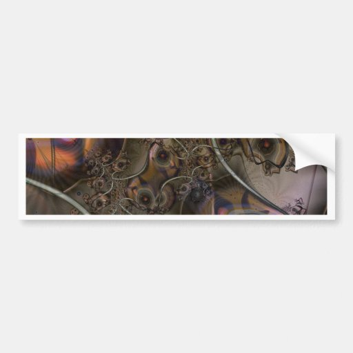 Arboleda del atisbador pegatina de parachoque