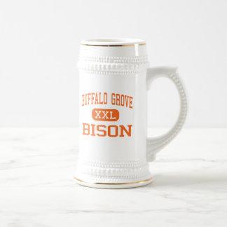 Arboleda del búfalo - bisonte - alta - arboleda de tazas de café